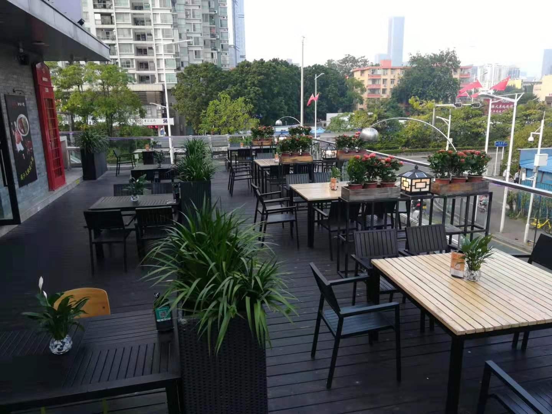 餐厅户外绿化装饰